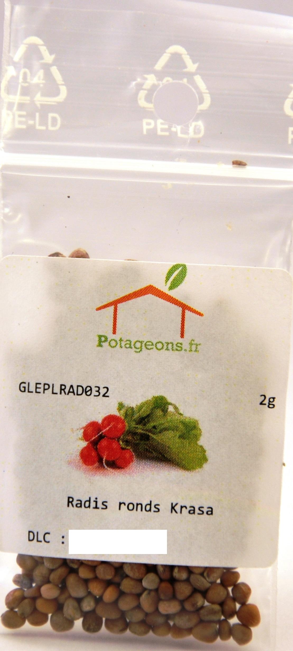 emballage des graines Potageons.fr